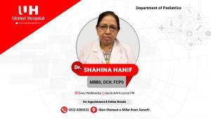 Dr Shahina Hanif