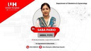 Dr Saba Pario